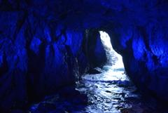 青の洞窟 in 能登
