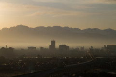 霧の街 富山