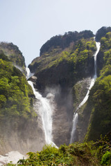称名滝と幻の滝