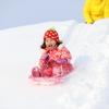 雪遊びが大好き