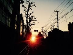 光の向こう