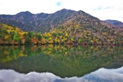 日光・湯ノ湖の秋♪2