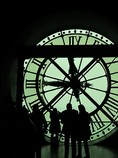 大時計裏からパリを愛でる!!!