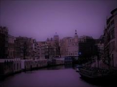 冬の運河は。。。ひっそりと!!!