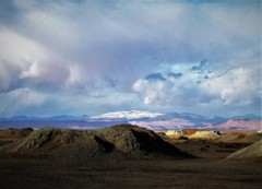 多彩な地形・ モロッコ大地