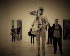 もしかして!彫刻のモデルさんですか?