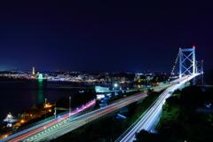 関門橋と下関