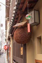 先斗町の街角