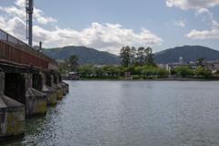 琵琶湖旧洗堰