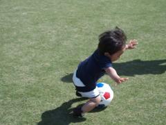 1歳児サッカー