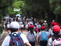 赤い帽子♪ 白い帽子♪