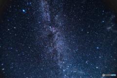 大山の星空