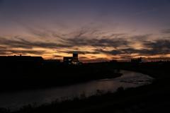 夕日の空の色、色々