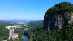 地上150メートルからの景色