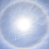 日暈(JPEG撮って出し)