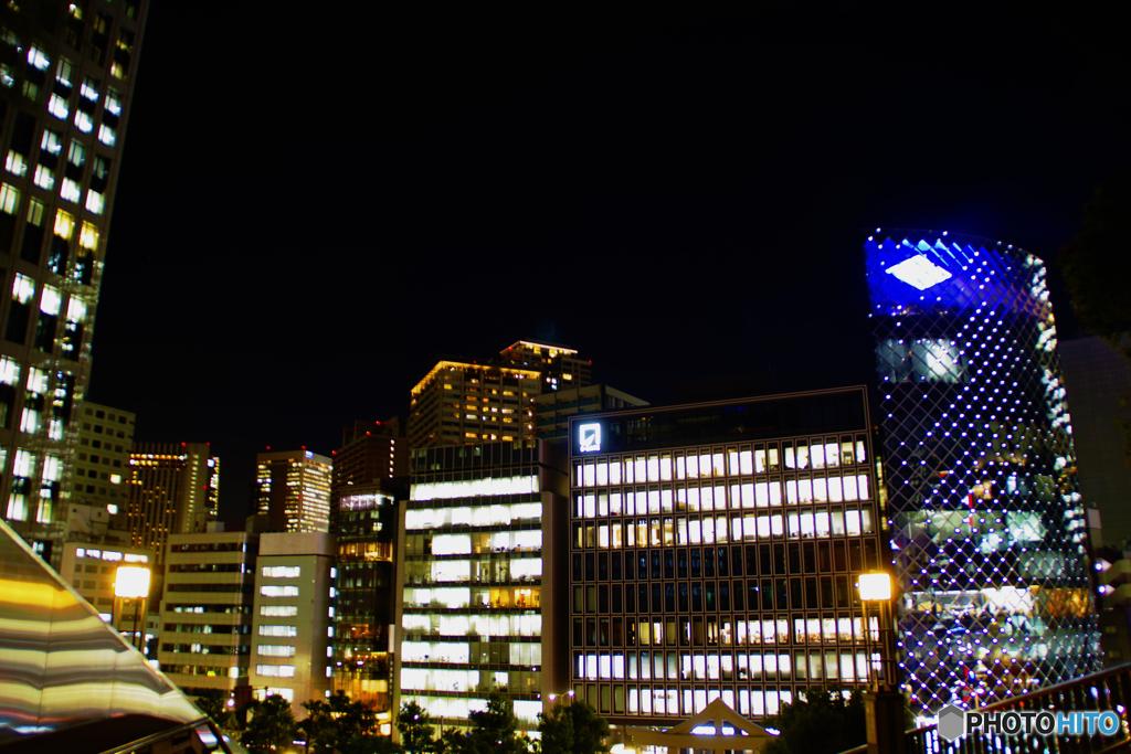 赤坂山王より赤坂の夜景