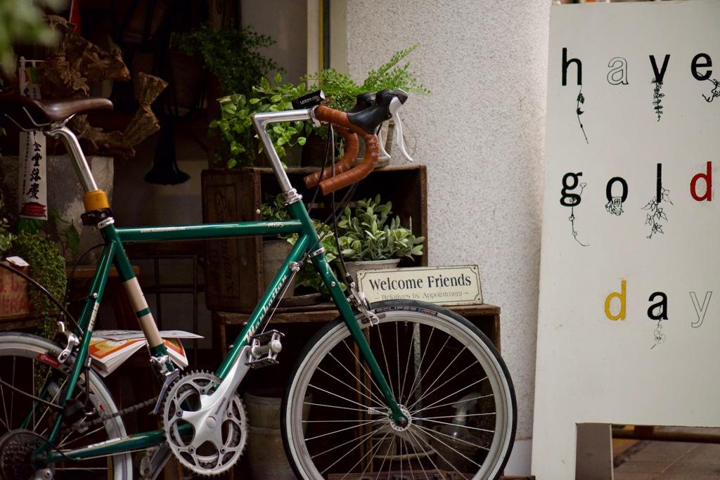 奈良町散歩・・お洒落