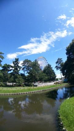真夏の華蔵寺公園