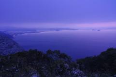 寺山から 風雪の丘