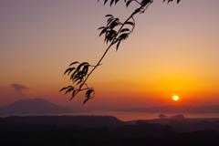 黒岩岳から 外輪山