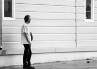 HASSELBLAD 500C/Mで撮影した(雨を避けた男)の写真(画像)