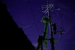 故郷の夜空
