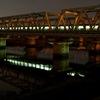 夜の東海道線