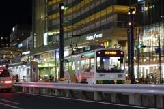 2016/12/06 新天王寺駅前駅入線