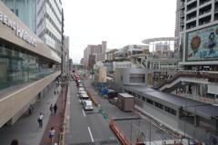 2017/09/15 天王寺駅前新駅舎と旧線路撤去跡