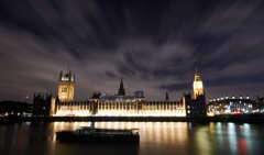 イギリス ロンドンの夜景