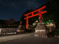 伏見稲荷 夜1