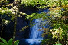 冬前な雰囲気の滝