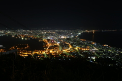 函館山より。