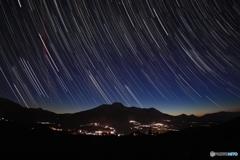 星明り&妙高山