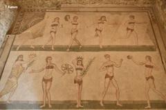 古代ローマ時代のビキニ