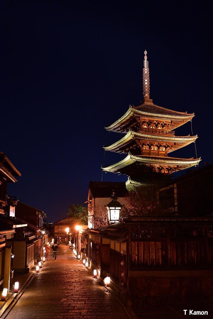京都東山花灯路 ⑦