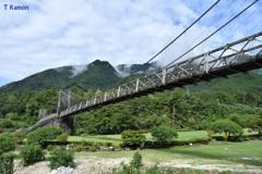 日本最大級の木製吊り橋⑤