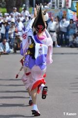 阿波踊り~女踊り⑨