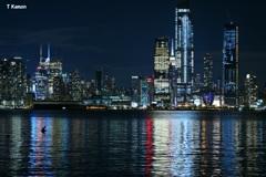 マンハッタンの夜景①