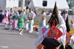 阿波踊り~女踊り⑦