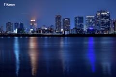 淀川から見た梅田の夜景④