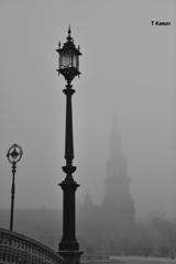 霧のスペイン広場④