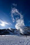 北の大地 -硫黄山・冬1-