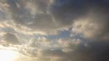 午後の雲。