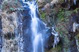大棚の滝。4
