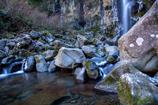 大棚の滝。2