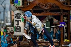 服織田神社祭典 【ひょっとこ①】
