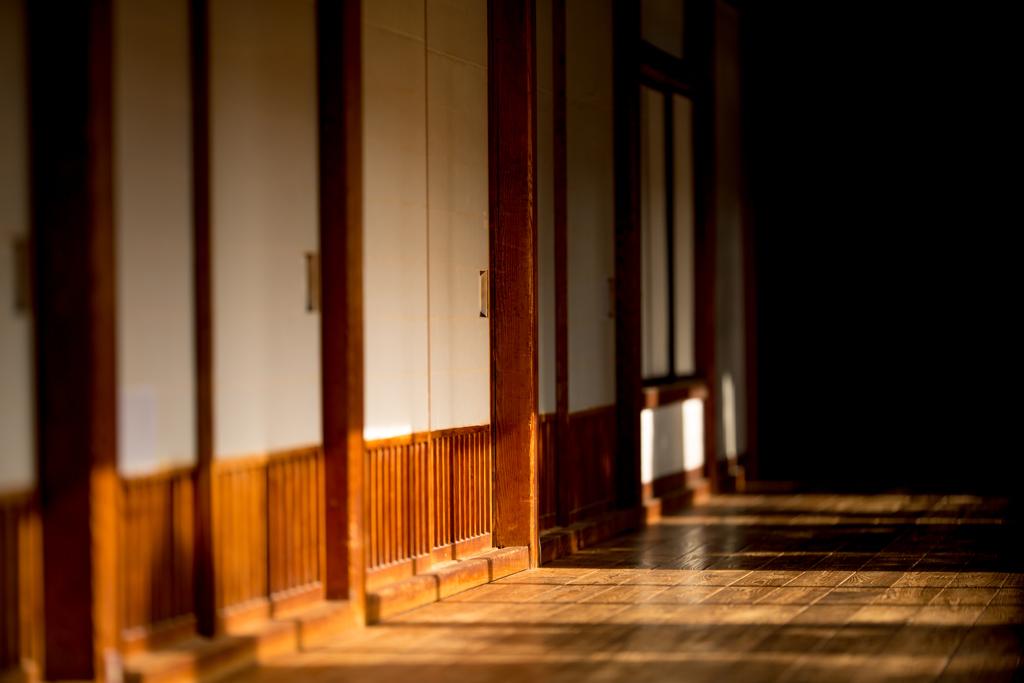可睡斎ひなまつり 廊下。