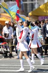 パレードのカラーガード(その4)