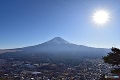 富士山と富士急ハイランド